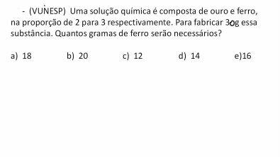 Razão e Proporção - Aula 12