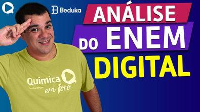Análise do ENEM DIGITAL - prova de QUÍMICA (AULA EXERCÍCIOS) - Prof. Guilherme Química
