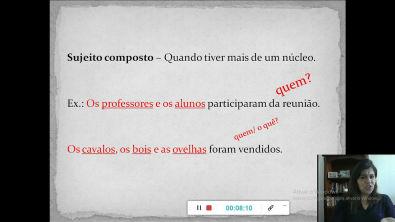 Português sem neura - Capítulo 1 - Sujeito e predicado