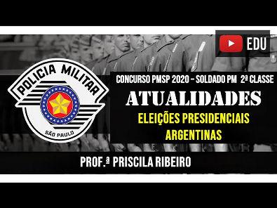 ATUALIDADES 2020: ELEIÇÕES PRESIDENCIAIS ARGENTINAS