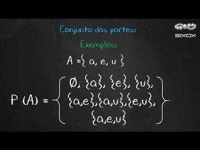 Help eixox | Conjunto das partes | Teoria dos Conjuntos
