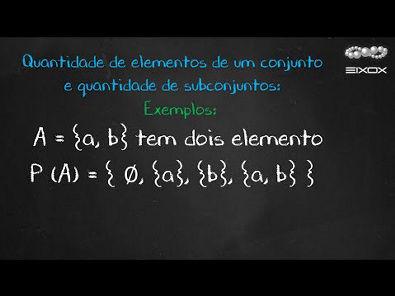 Help eixox | Como Calcular Subconjuntos de Um Conjunto | Teoria dos Conjuntos