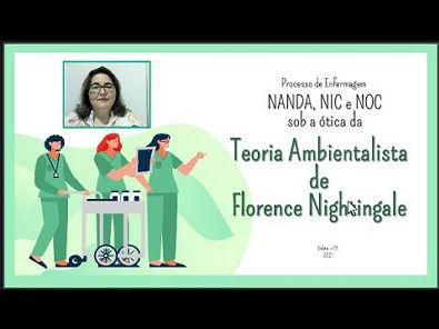 Processo de Enfermagem NANDA, NIC e NOC sob a ótica da Teoria Ambientalista de Florence Nightingale