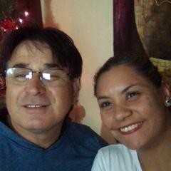 Carla e mario Fraga