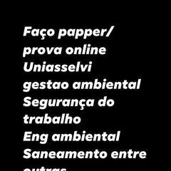 FAÇO PAPPER PROVA UNIASSELVI gapontorohdenarrobagmailcom